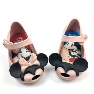 Mini Melissa Mickey and Minnie Shoes